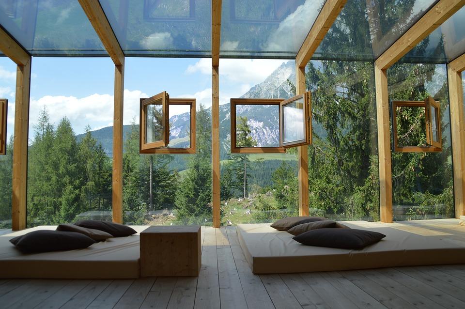 hôtels à la montagne
